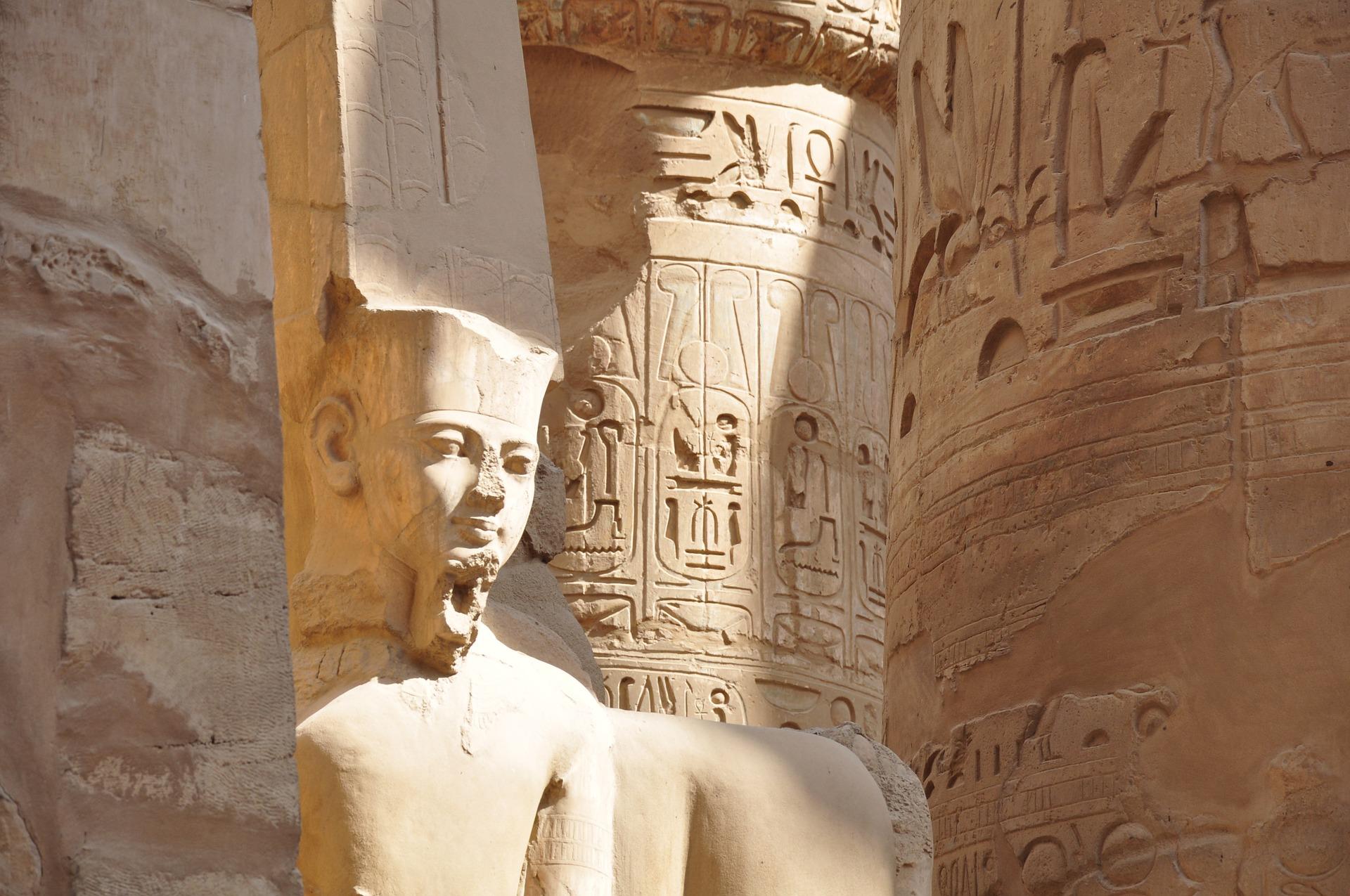 エジプトの遺跡