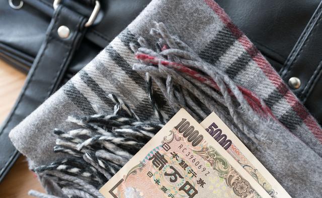 学生鞄とお金